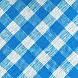 Bavarian Blue Checkered Tablecloth Royalty Free Stock Images