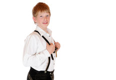 Bavarian boy Royalty Free Stock Photography