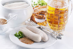 Bavarian breakfast Stock Photo