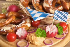 Bavarian breakfast Stock Image