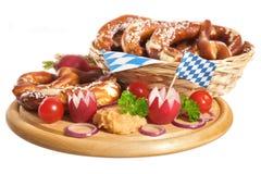 Bavarian breakfast Royalty Free Stock Image