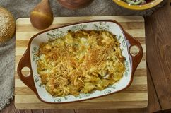 Bavarian Cabbage Casserole Stock Photo