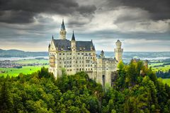 Bavarian Castle Stock Images