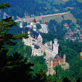 Bavarian castle Royalty Free Stock Images