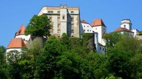 Bavarian Castle at Passau Stock Photography