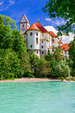 Bavarian castles - pictorial Fussen . Germany Royalty Free Stock Images