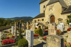 Bavarian cemetery Stock Image
