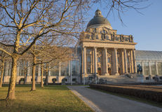 Bavarian chancellery building in the evening sun, munich Royalty Free Stock Photos
