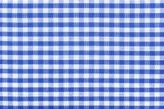 Bavarian checked pattern Stock Image