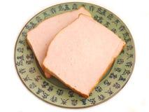 Bavarian cheese meat. Some bavarian cheese meat of pork stock photography
