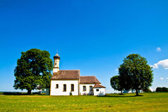 Bavarian chruch Royalty Free Stock Images