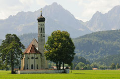 Bavarian church Stock Image