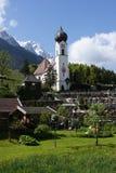 Bavarian church Royalty Free Stock Photography