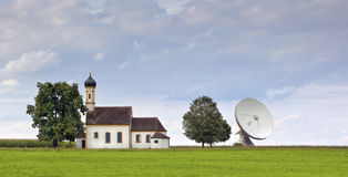 Bavarian church Royalty Free Stock Photo