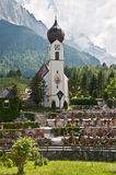 Bavarian church Stock Photos