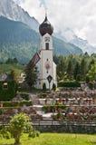 Bavarian church Stock Photos