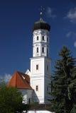 bavarian church Royaltyfria Bilder