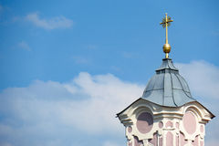 Bavarian church spire Stock Image