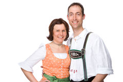 Bavarian couple Stock Photos