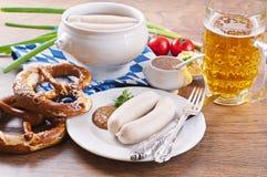 Bavarian cuisine Stock Images
