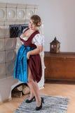 Bavarian, curvy and sexy Royalty Free Stock Photo