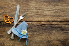 Bavarian cutlery Royalty Free Stock Image