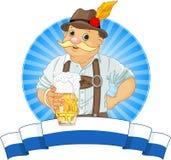 Bavarian de Oktoberfest Imagen de archivo