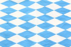Bavarian diamond pattern Royalty Free Stock Photography
