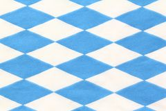 Bavarian diamond pattern Stock Images