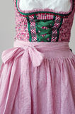 Bavarian Dirndl, closeup Royalty Free Stock Photography