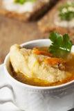 Bavarian dumpling soup Stock Image
