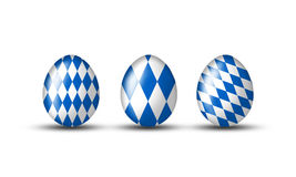 Bavarian eggs Stock Photo