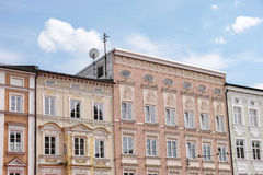 Bavarian facades Royalty Free Stock Photo