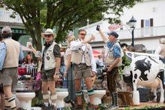 Bavarian Festival Parade royalty free stock image