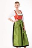 Bavarian festive costume Stock Photography