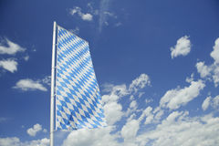 Bavarian flag . Stock Images