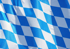 Bavarian flag background Royalty Free Stock Photography