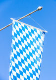 Bavarian flag Royalty Free Stock Photography