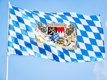 Bavarian flag Stock Photography