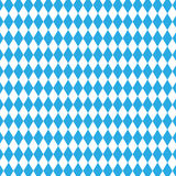 Bavarian flag pattern. Oktoberfest seamless pattern. Checkered blue seamless pattern of Bavaria flag Royalty Free Stock Images