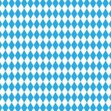 Bavarian flag pattern. Oktoberfest seamless pattern. Checkered blue seamless pattern of Bavaria flag Royalty Free Stock Images