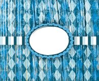 Bavarian flag pattern. Traditional fabric texture. Oktoberfest background. Design for the famous, traditional bavarian Oktoberfest. Bavarian flag pattern royalty free stock images
