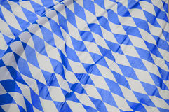 Bavarian Flag in the Wind Royalty Free Stock Images