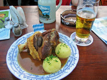 Bavarian food Stock Image