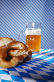 Bavarian food and drinks Stock Photography
