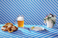 Bavarian food and drinks Royalty Free Stock Photography
