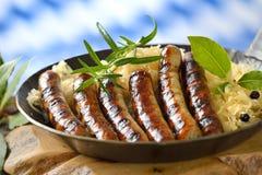 Bavarian food Stock Images