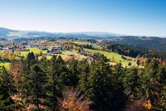 Bavarian Forest Royalty Free Stock Photography