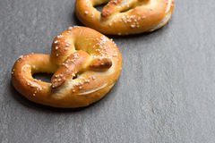 Bavarian fresh pretzel Royalty Free Stock Image