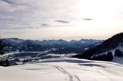 bavarian góry Zdjęcie Stock